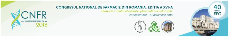 Congresului National de Farmacie din Romania CNFR 2016