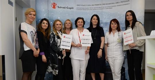 """Salvați Copiii dotează secția de neonatologie a Spitalului Clinic de Urgență  """"Sfântul Pantelimon"""" cu echipamente în valoare de 26.000 de euro"""