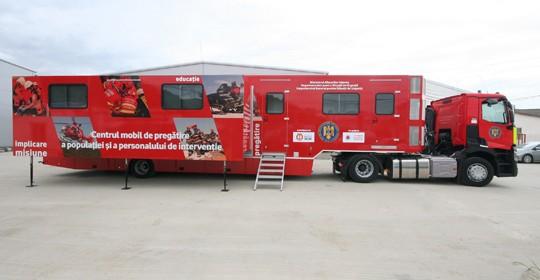 Caravana SMURD de instruire a populației va ajunge în 20 localități în următoarele trei luni