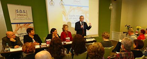 Asociaţia Sprijin, Organizare, Suport Mielom – S.O.S. Mielom –  își cere dreptul la viață și le solicită autorităților creșterea accesului la tratament pentru pacienții cu mielom multiplu