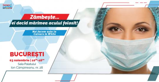 Noutati in materie de joburi pentru personalul medical! Targ de Cariera in domeniul medical